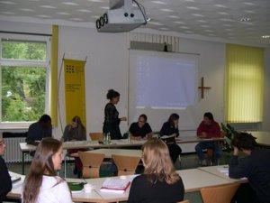 Bild einer Arbeitssitzung